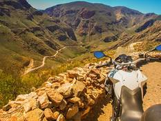 Mountain pass in South Africa