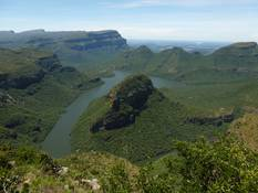 The Blyderiver Canyon on the Panorama Route