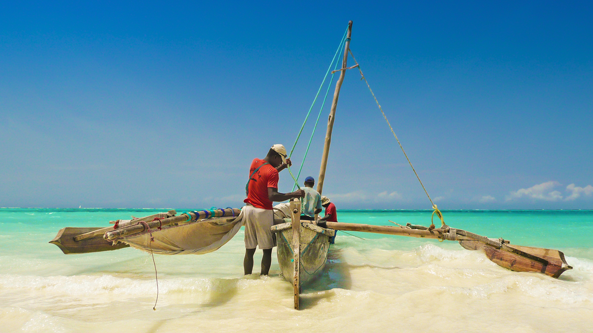 The blissful beaches of Zanzibar